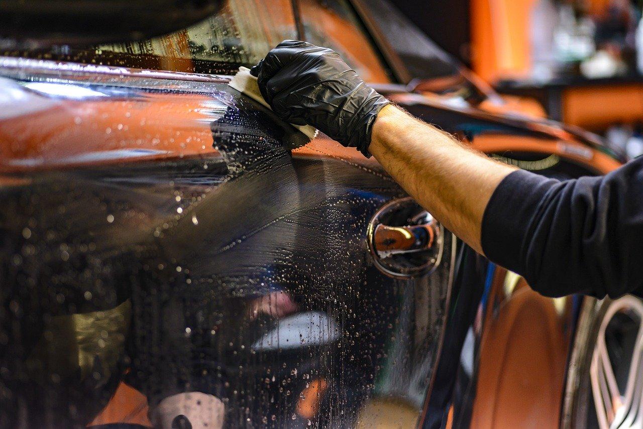 Samochód - mycie